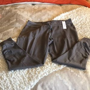 Calvin Klein performance distressed capris